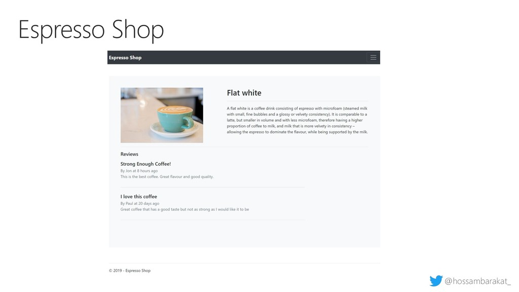 @hossambarakat_ Espresso Shop