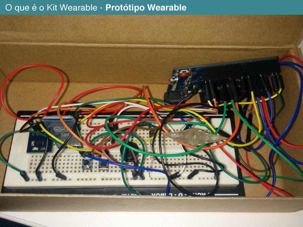 O que é o Kit Wearable - Protótipo Wearable