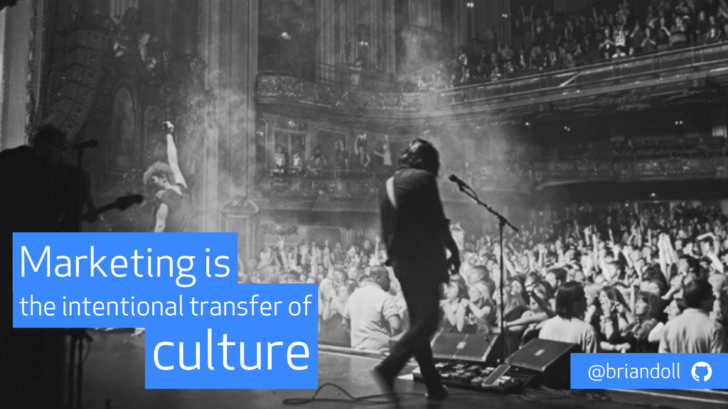 culture the intentional transfer of Marketing i...