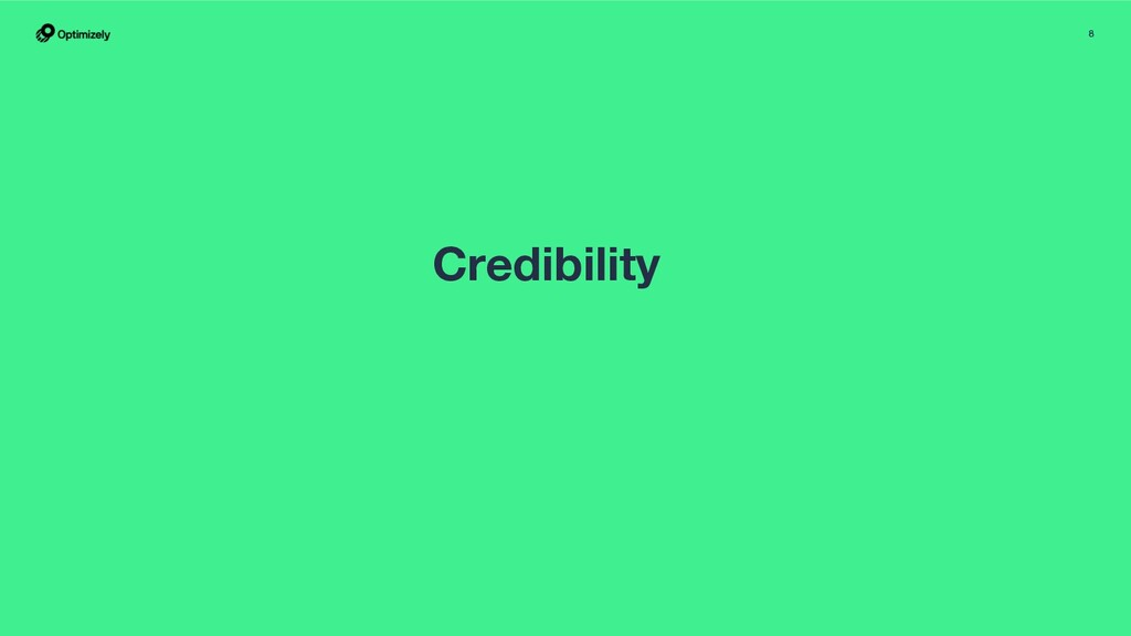 8 Credibility