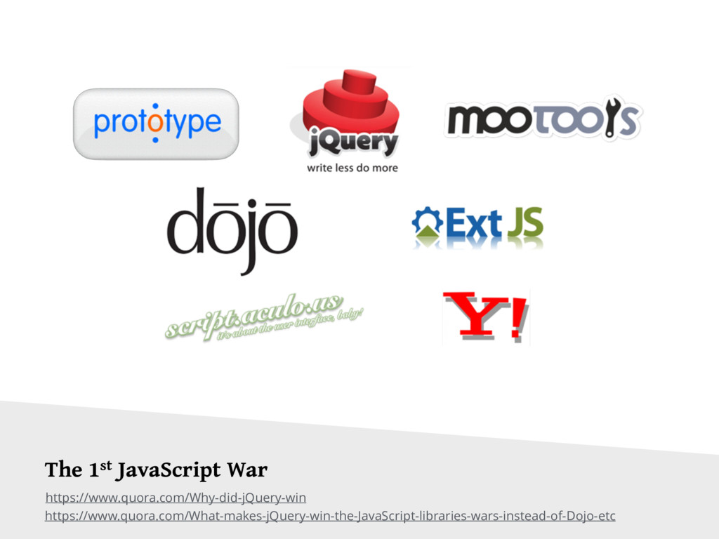 The 1st JavaScript War https://www.quora.com/Wh...