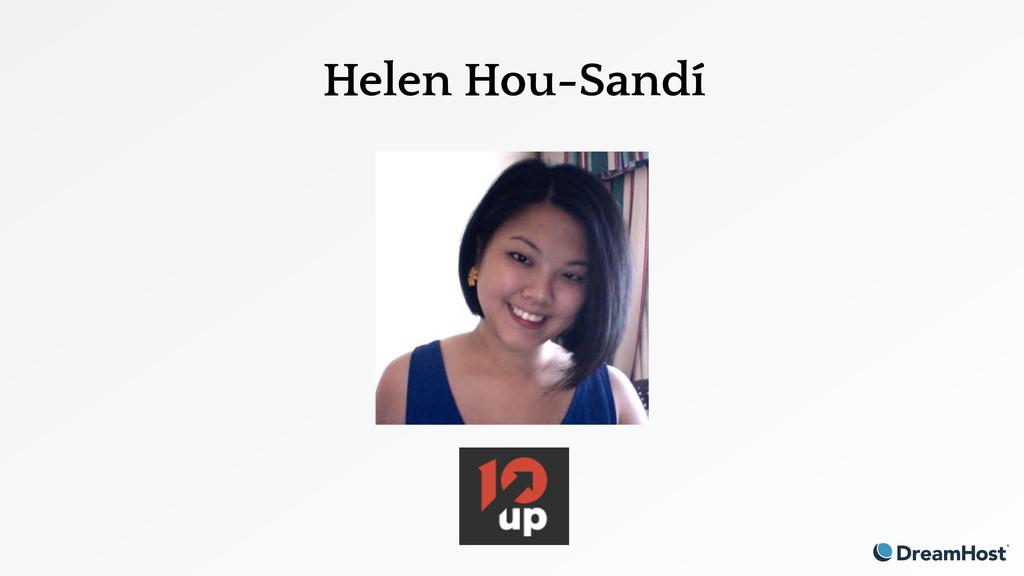 Helen Hou-Sandí