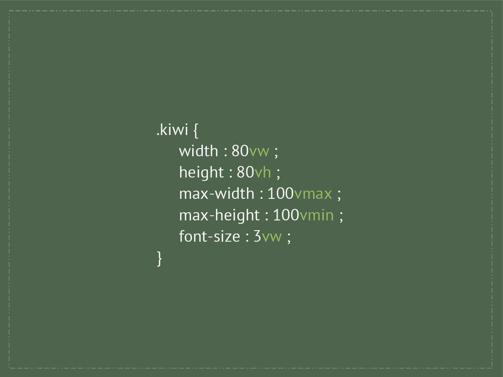 .kiwi { width : 80vw ; height : 80vh ; max-widt...
