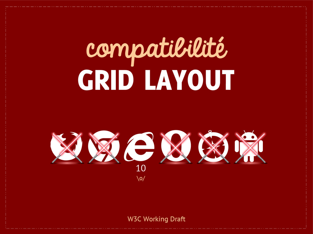 compatibilité GRID LAYOUT 10 \o/ W3C Working Dr...