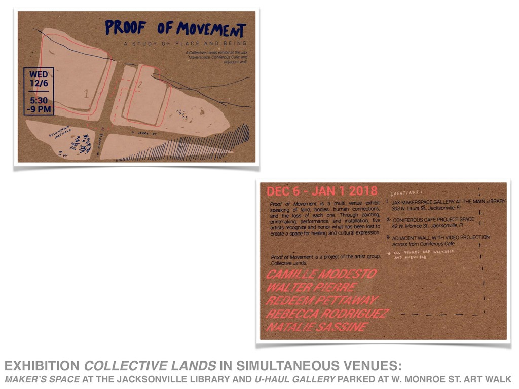 EXHIBITION COLLECTIVE LANDS IN SIMULTANEOUS VEN...
