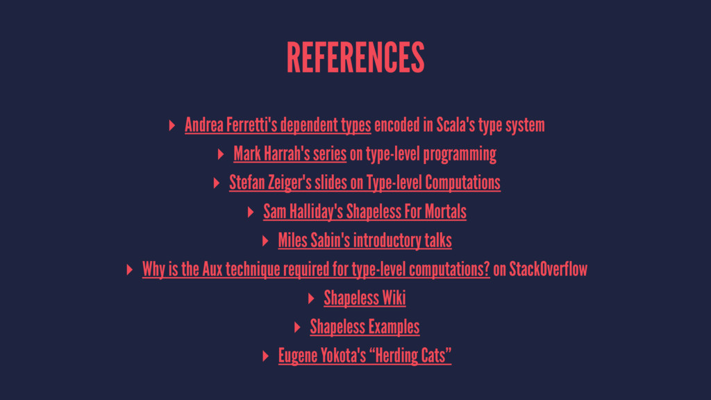 REFERENCES ▸ Andrea Ferretti's dependent types ...