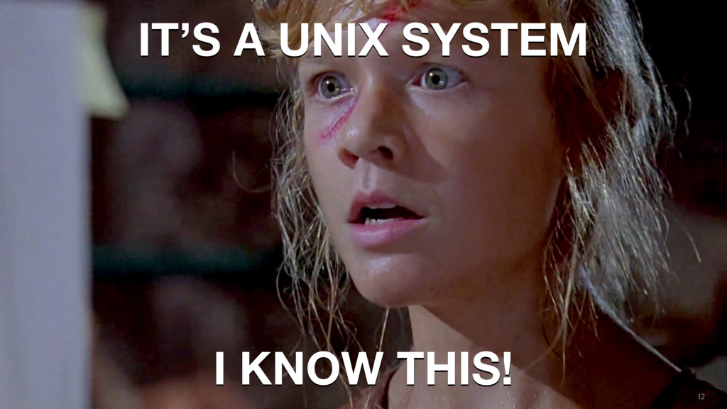 How people build software ! 12 IT'S A UNIX SYST...