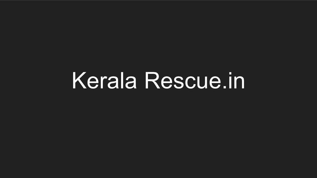 Kerala Rescue.in