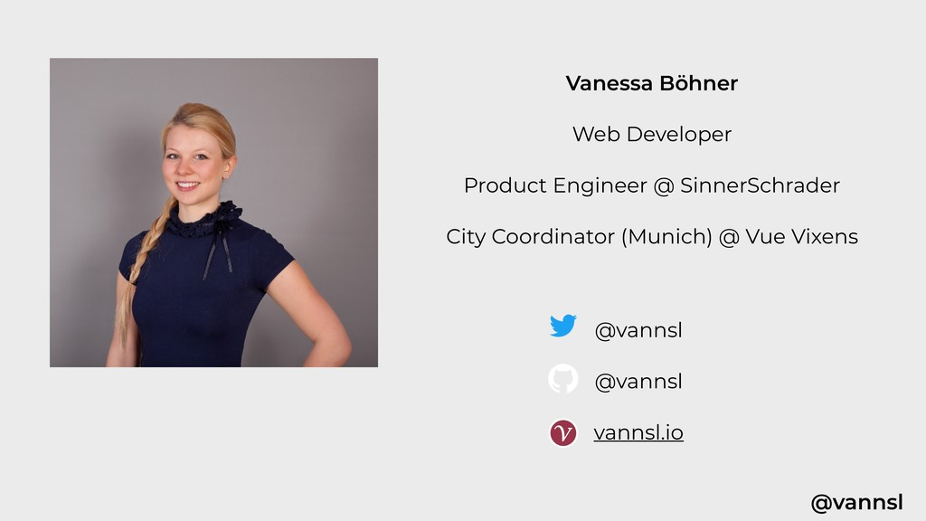 @vannsl Vanessa Böhner Web Developer Product En...