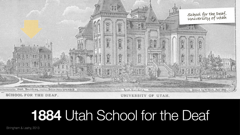 Stringham & Leahy, 2013 1884 Utah School for th...