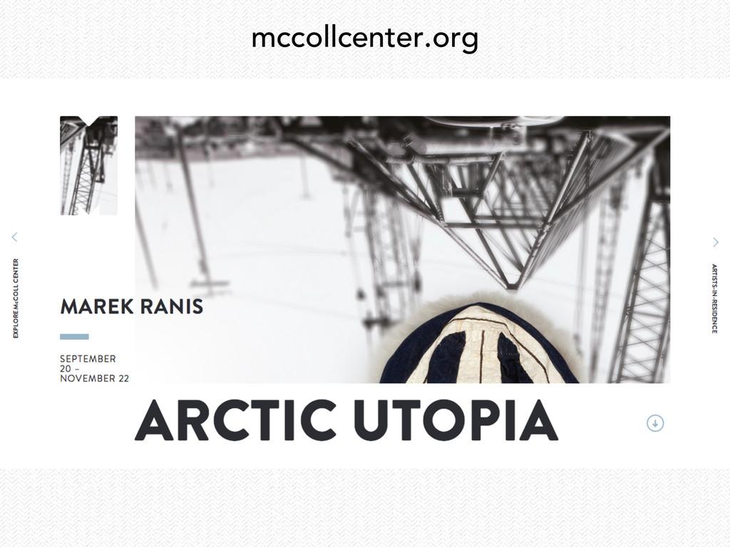 mccollcenter.org