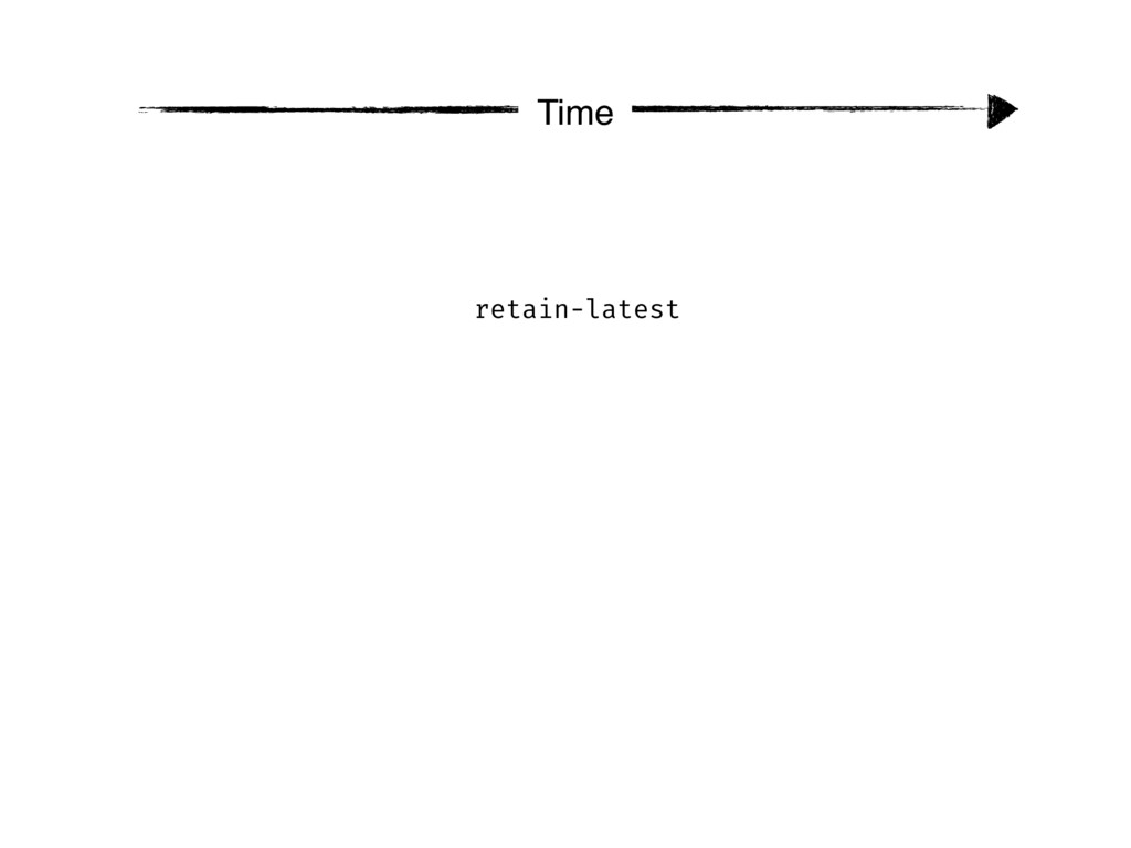 Time retain-latest