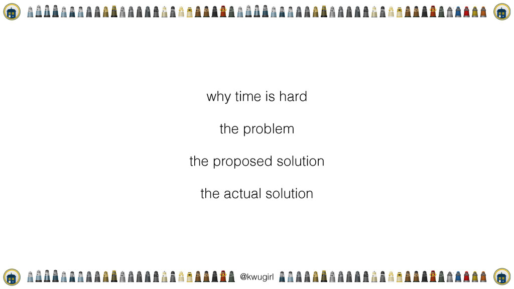 ! @kwugirl why time is hard the problem the pro...