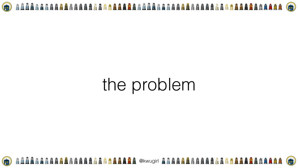 ! @kwugirl the problem
