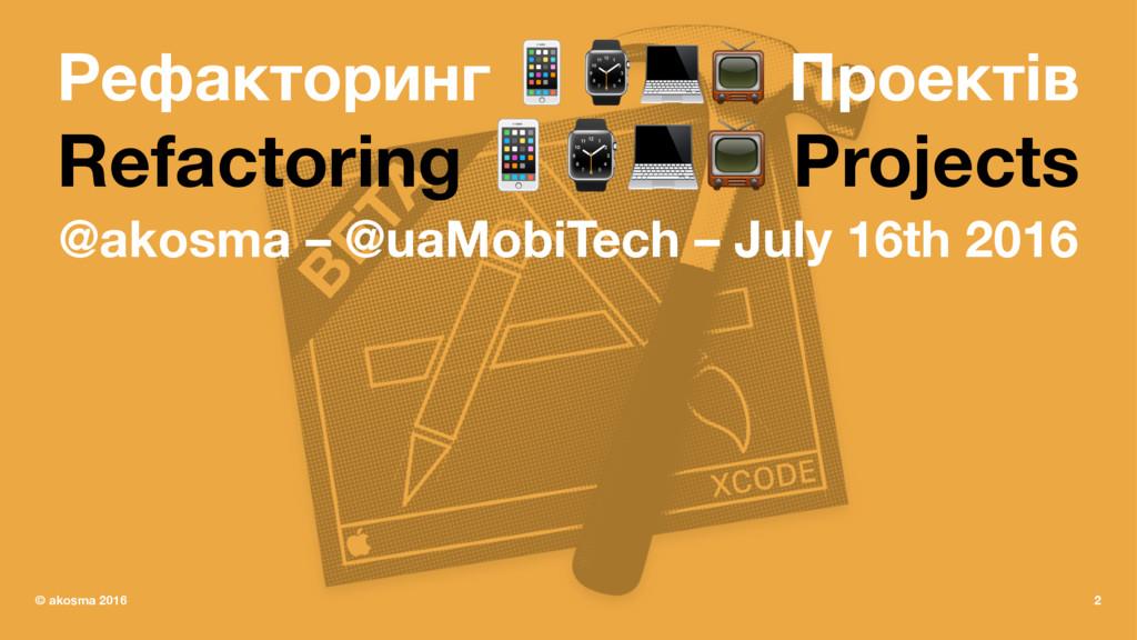 Рефакторинг !⌚#$ Проектів Refactoring !⌚#$ Proj...