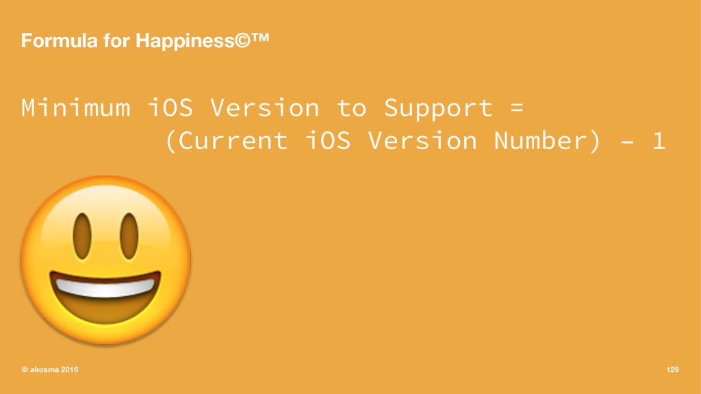 Formula for Happiness©™ Minimum iOS Version to ...