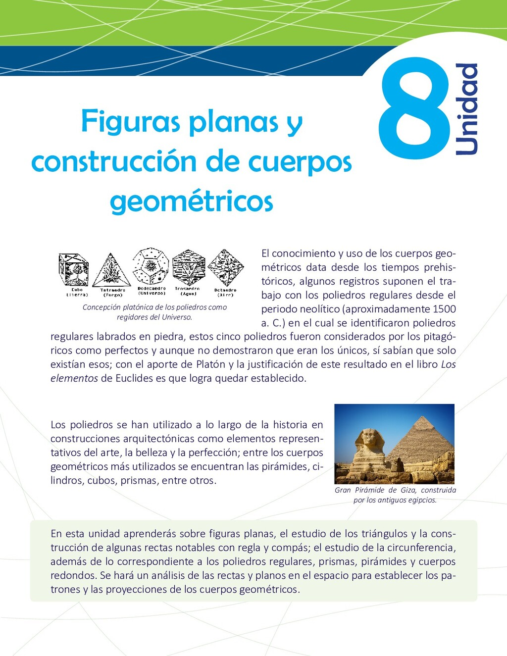 8 Figuras planas y construcción de cuerpos geom...