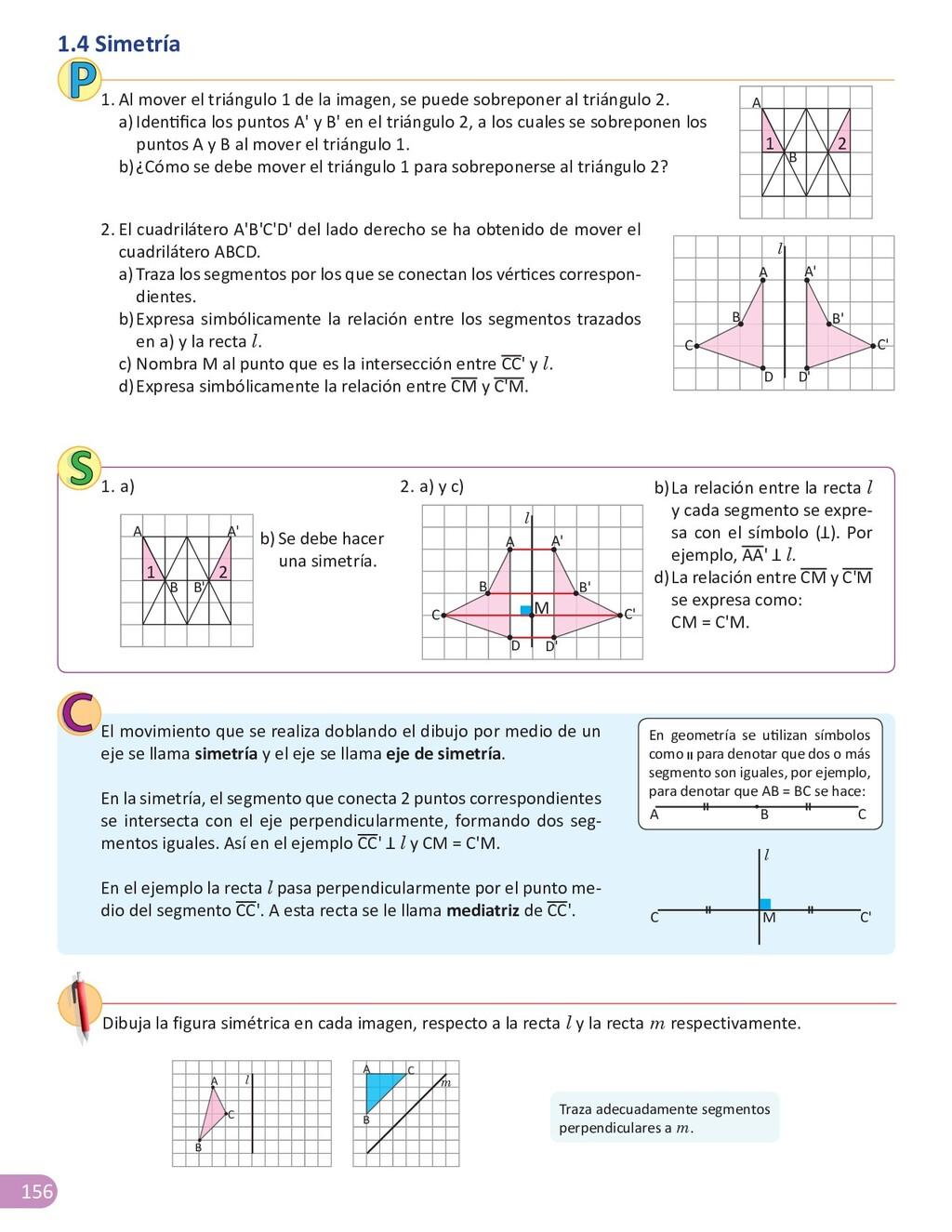 156 1.4 Simetría 2. El cuadrilátero A'B'C'D' de...