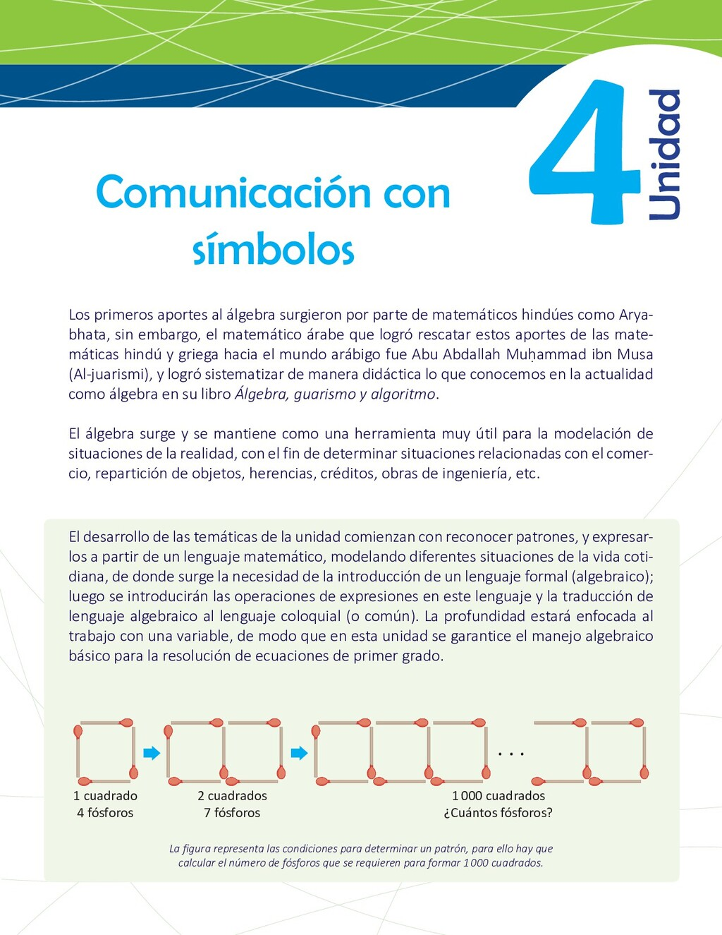 4 Comunicación con símbolos El desarrollo de la...
