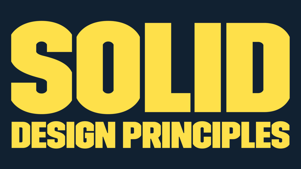 SOLID Design Principles