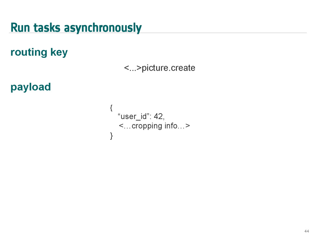 Run tasks asynchronously routing key <...>pictu...