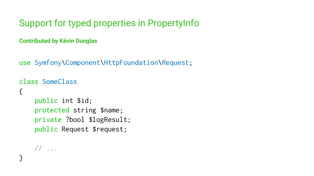 Support for typed properties in PropertyInfo Co...