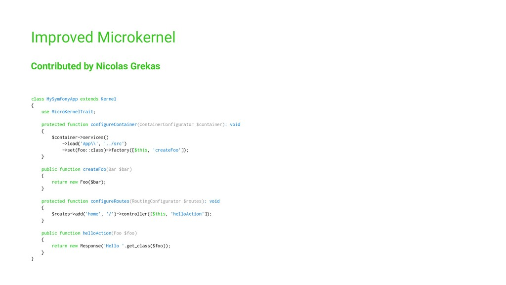 Improved Microkernel Contributed by Nicolas Gre...