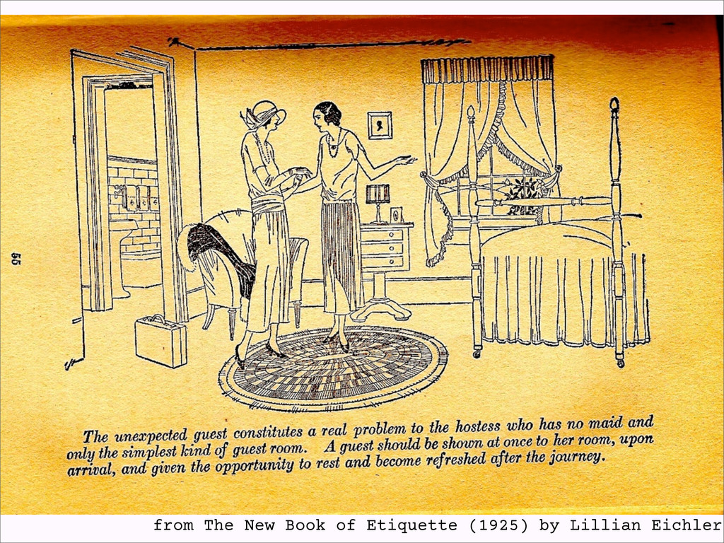 from The New Book of Etiquette (1925) by Lillia...