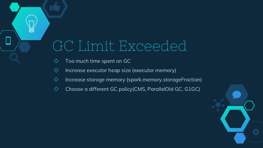 GC Limit Exceeded ◇ Too much time spent on GC ◇...