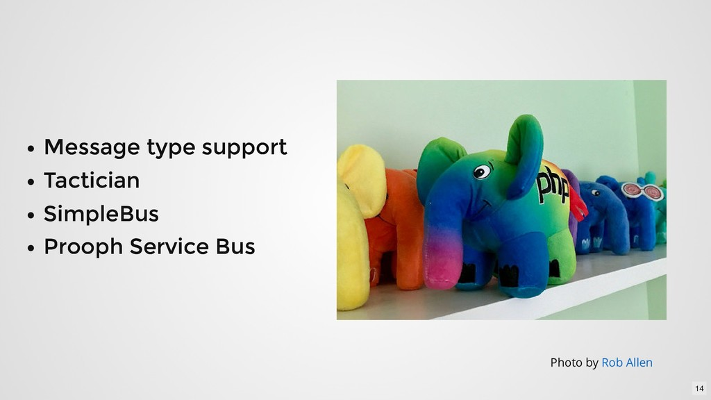 Message type support Message type support Tacti...
