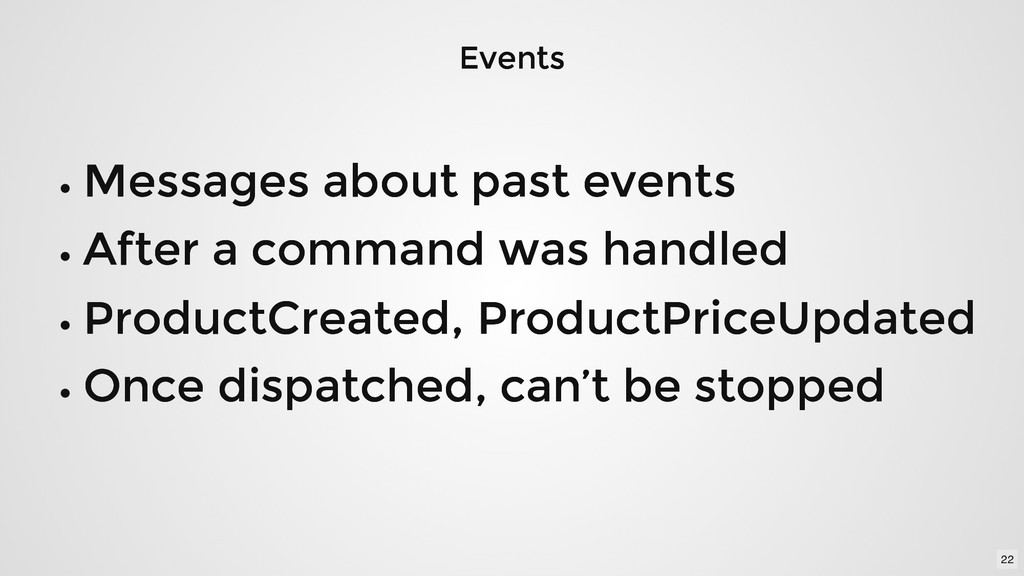 Events Events Messages about past events Messag...