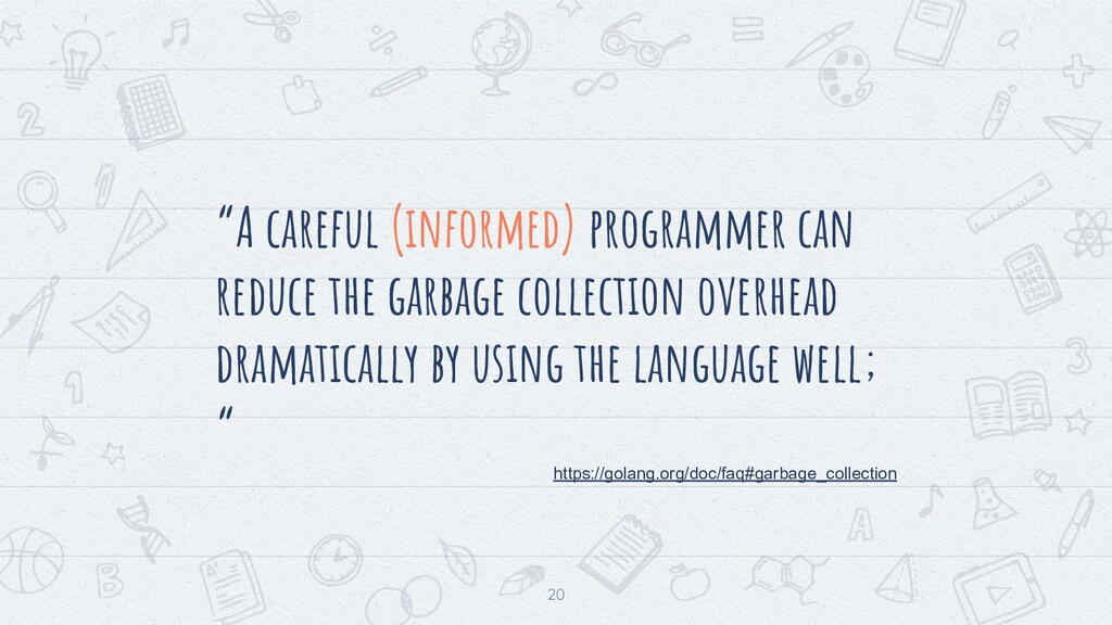 """20 """"A careful (informed) programmer can reduce ..."""