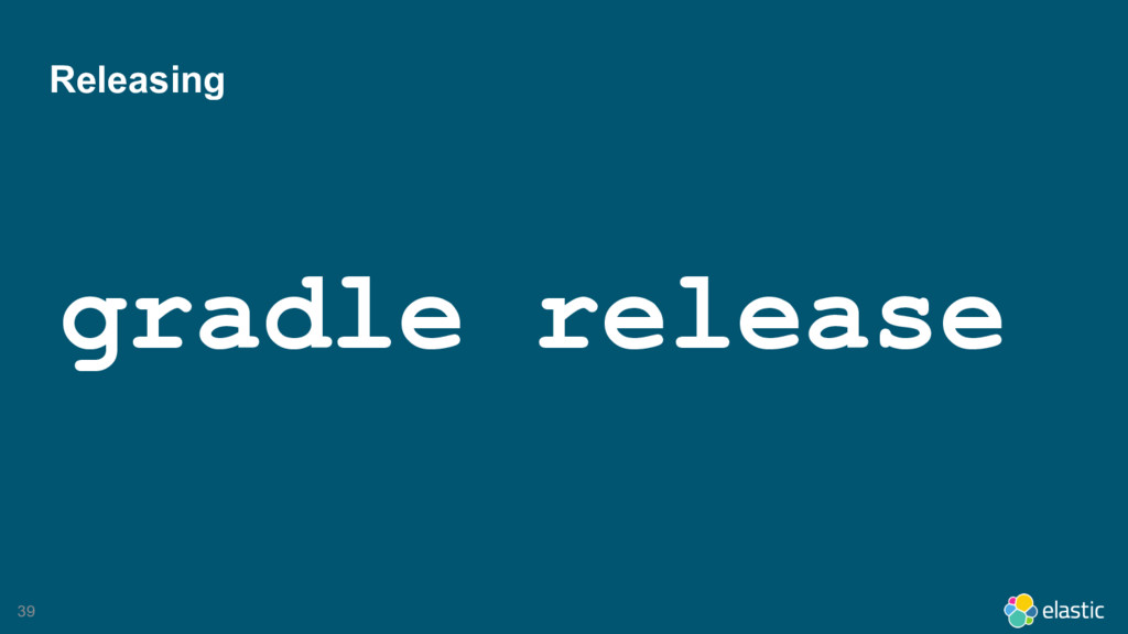 39 Releasing gradle release