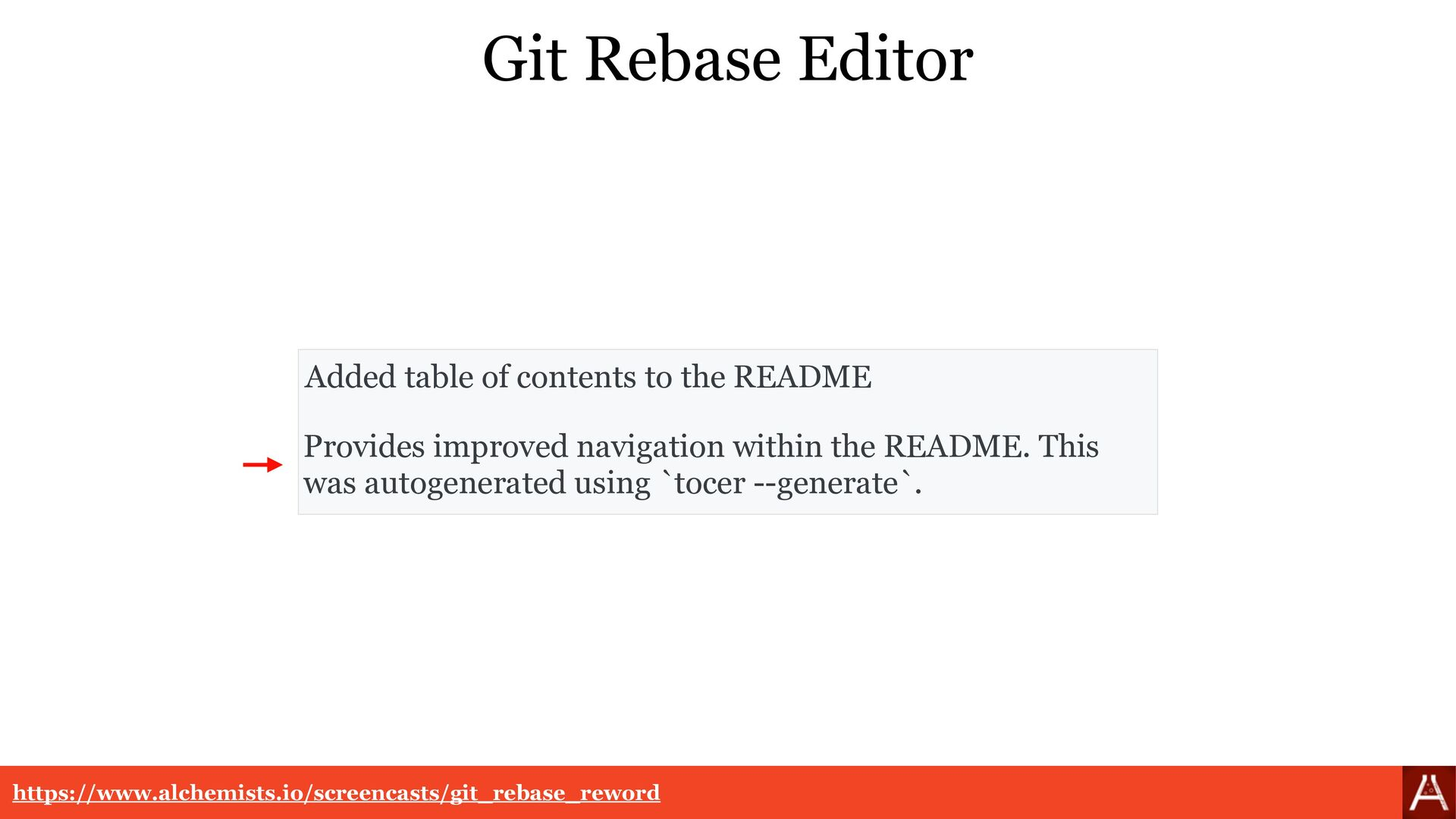 Git Rebase Editor Added documentation.   Provid...