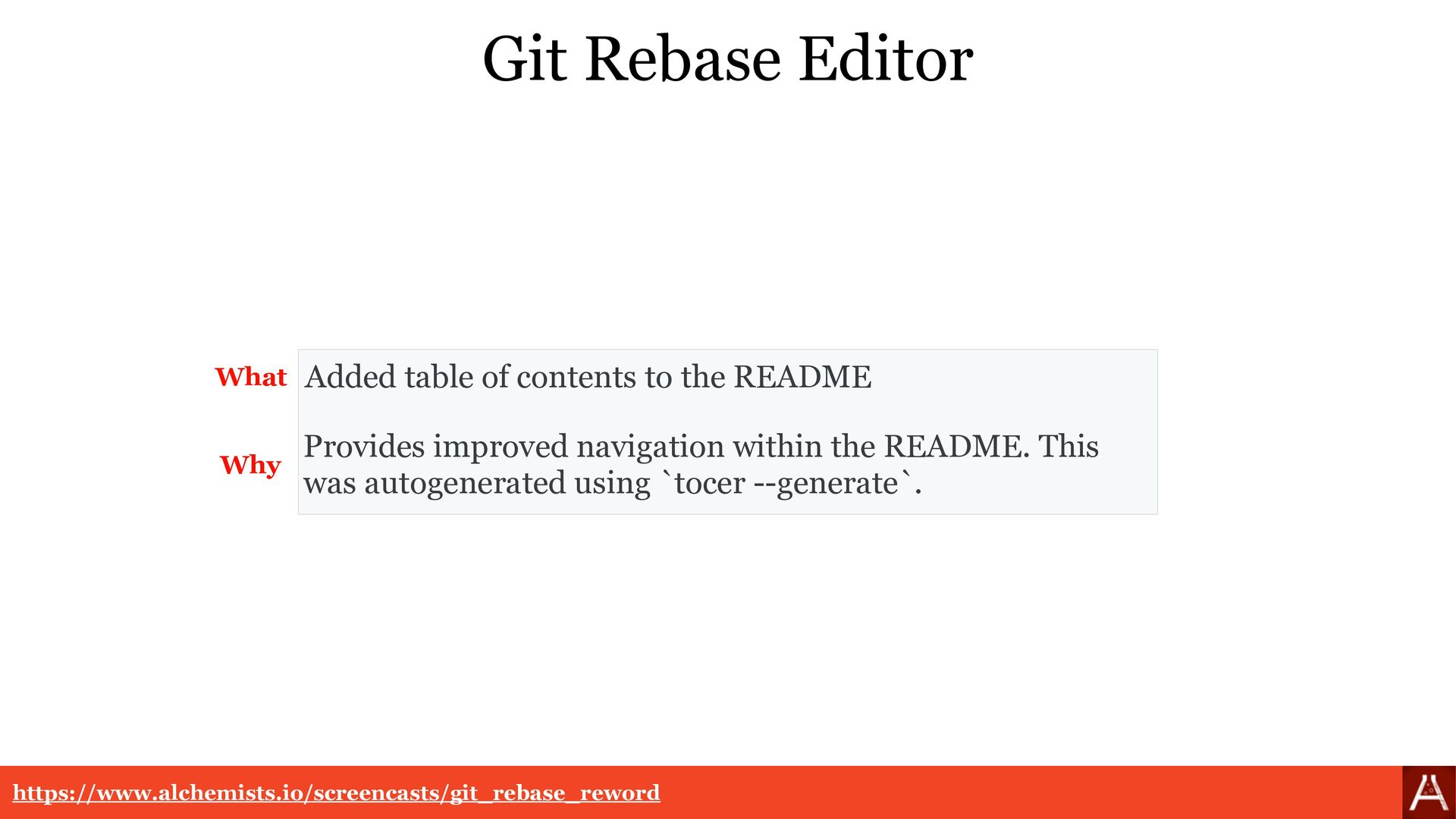 Git Rebase Editor Provides improved navigation ...