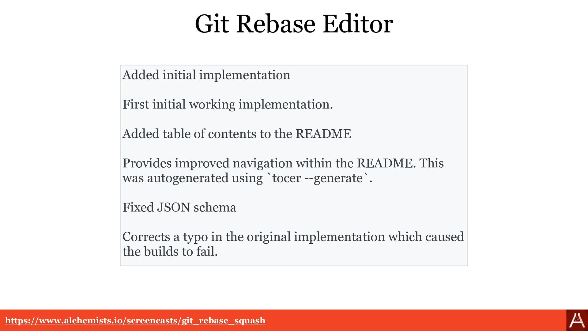 Git Rebase Editor Added initial implementation....