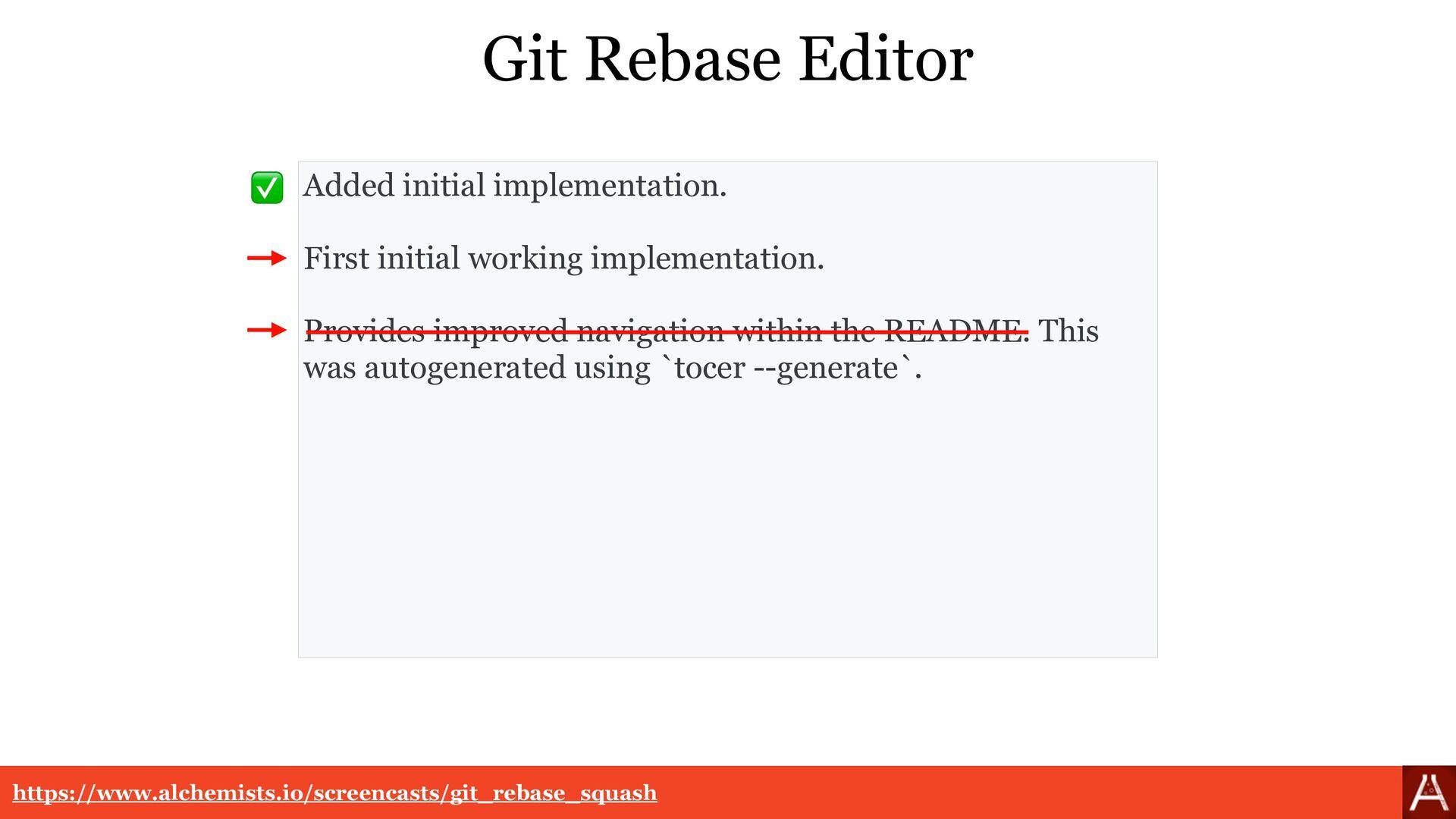 Git Rebase Fixup https://www.alchemists.io/scre...