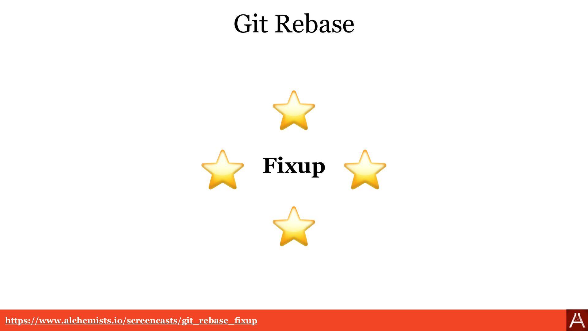 Git Rebase https://www.alchemists.io/screencast...