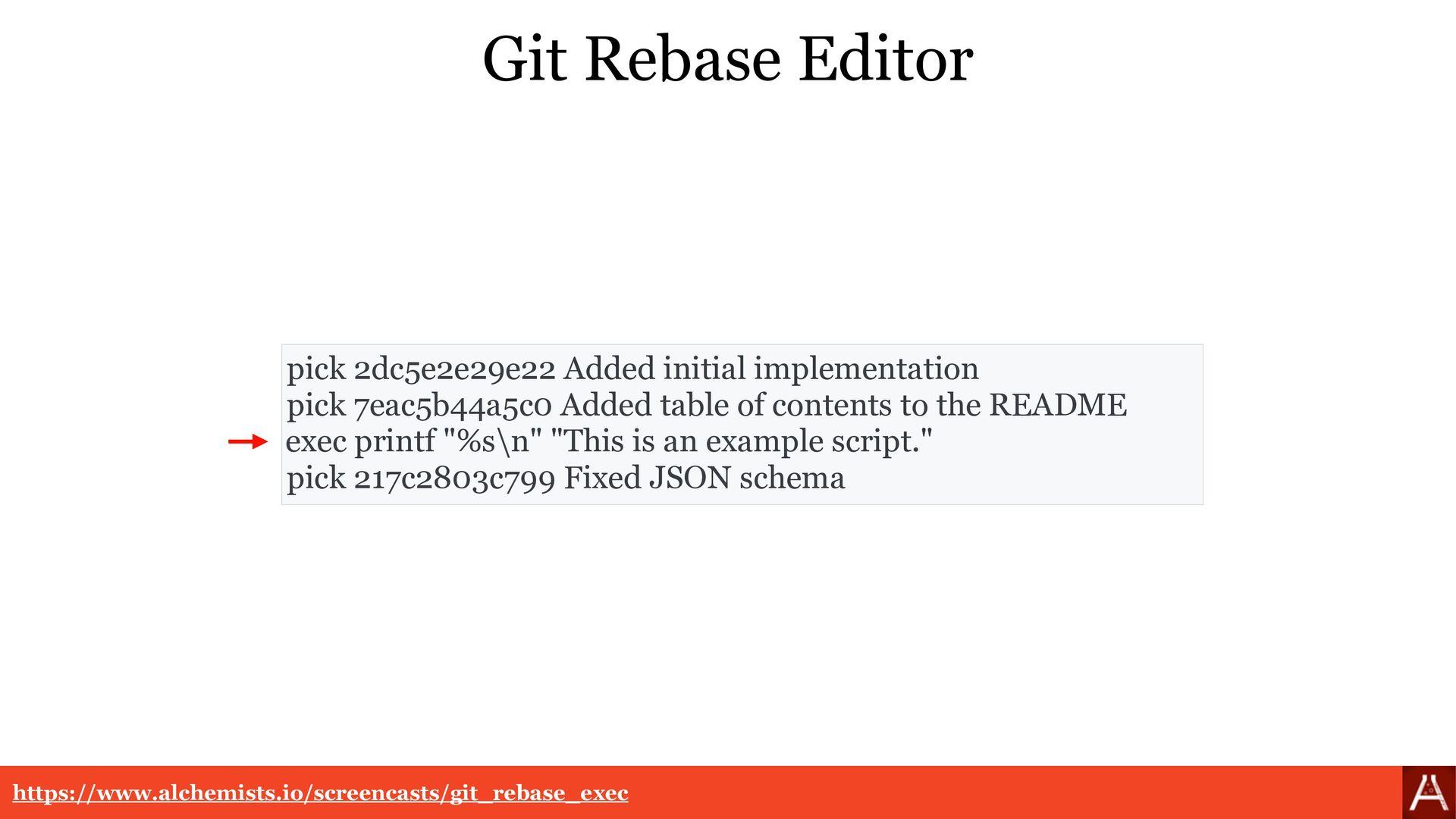 Git Rebase Resolution