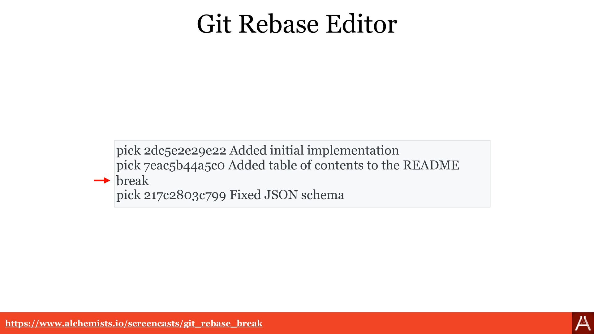 Git Rebase Resolution