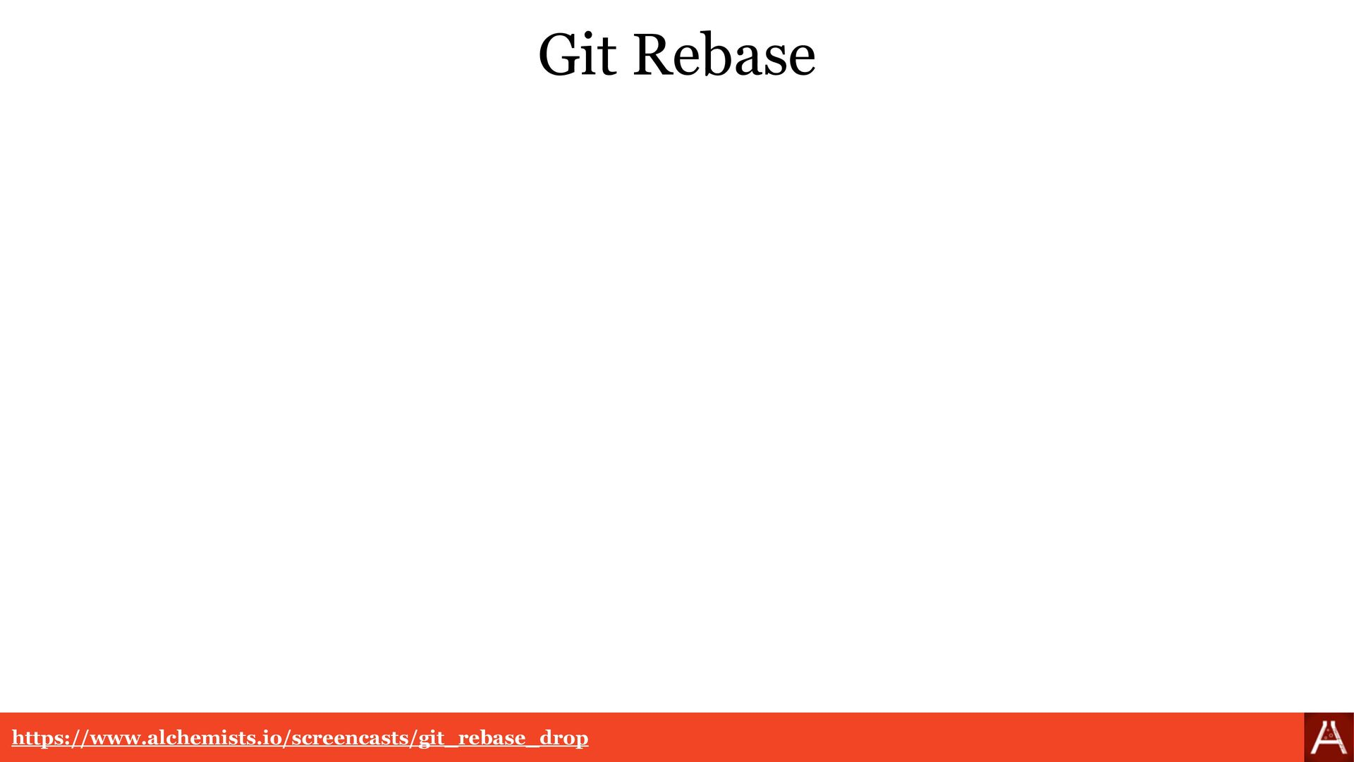 Git Rebase Resolution git rebase --abort