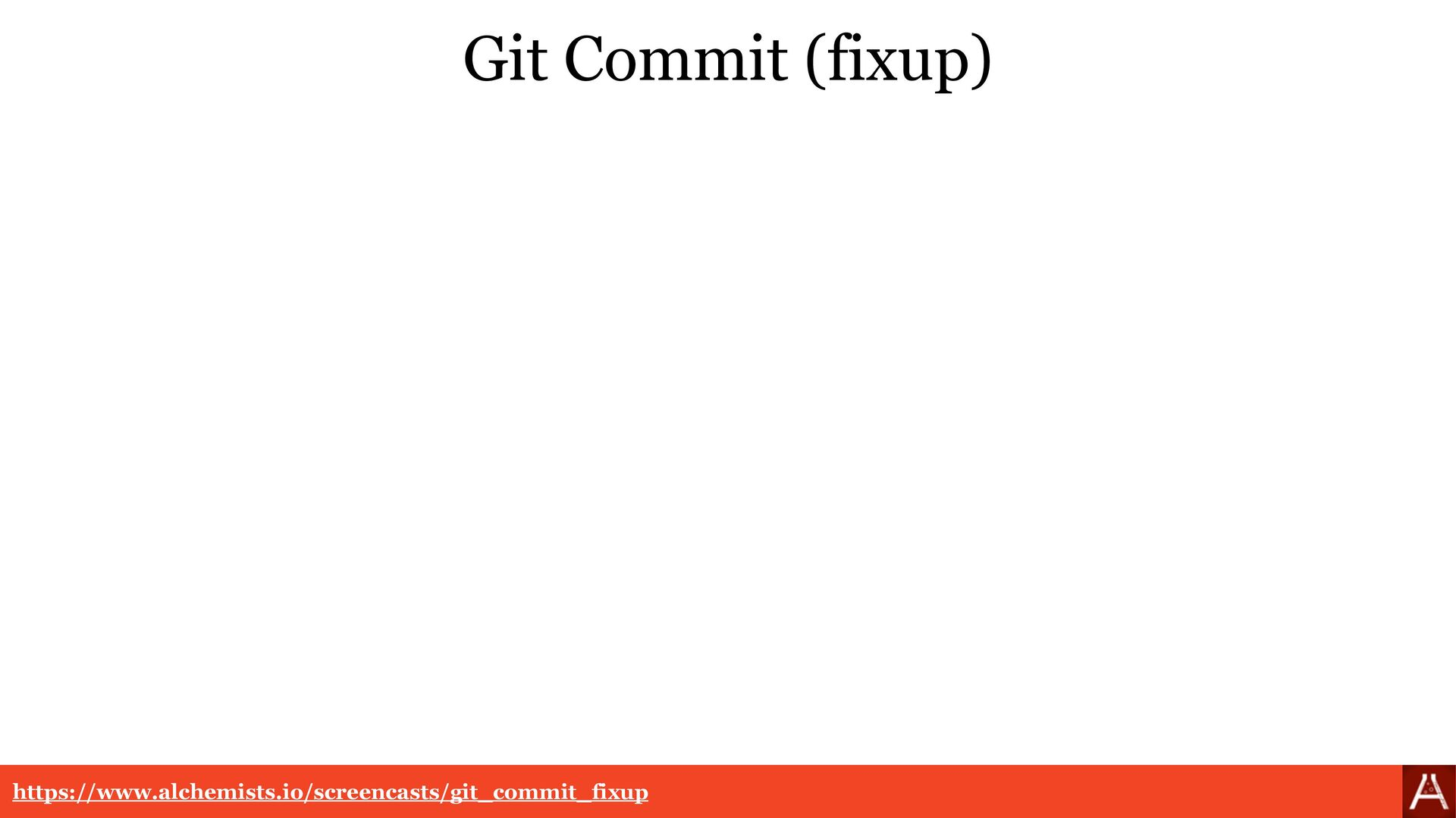 "Git Commit (fixup) git log --pretty=format:""%h ..."