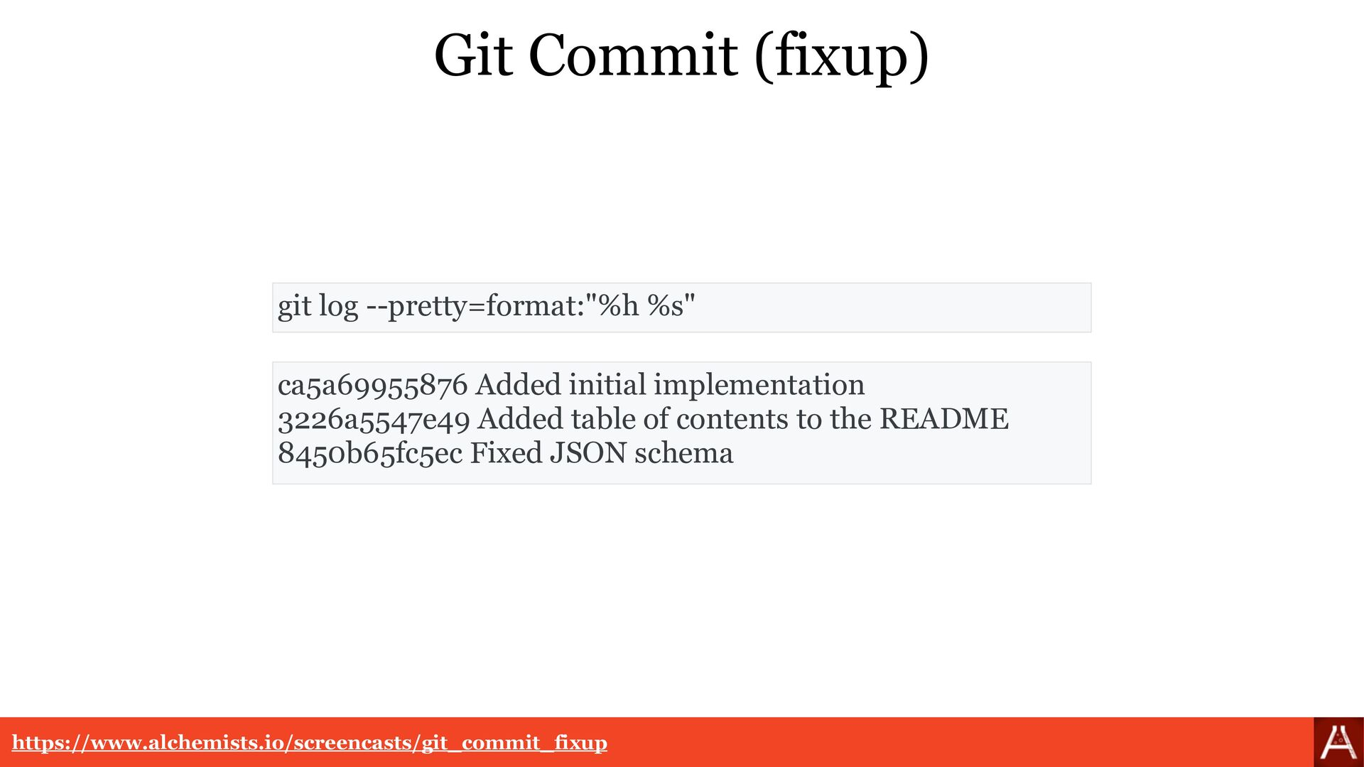 Git Commit (amend) git commit --amend https://w...