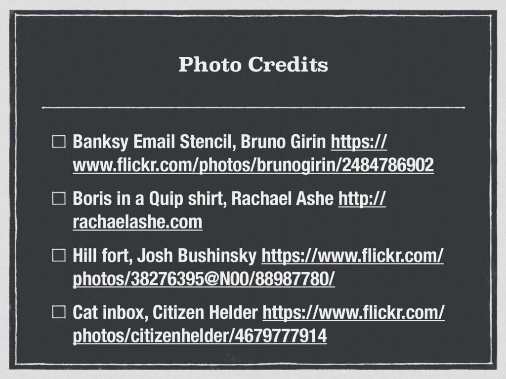 Photo Credits Banksy Email Stencil, Bruno Girin...