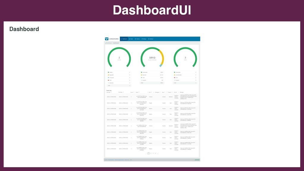 DashboardUI Dashboard