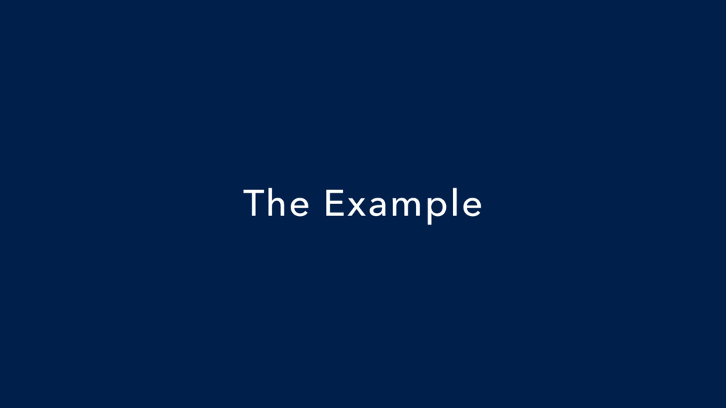 The Example