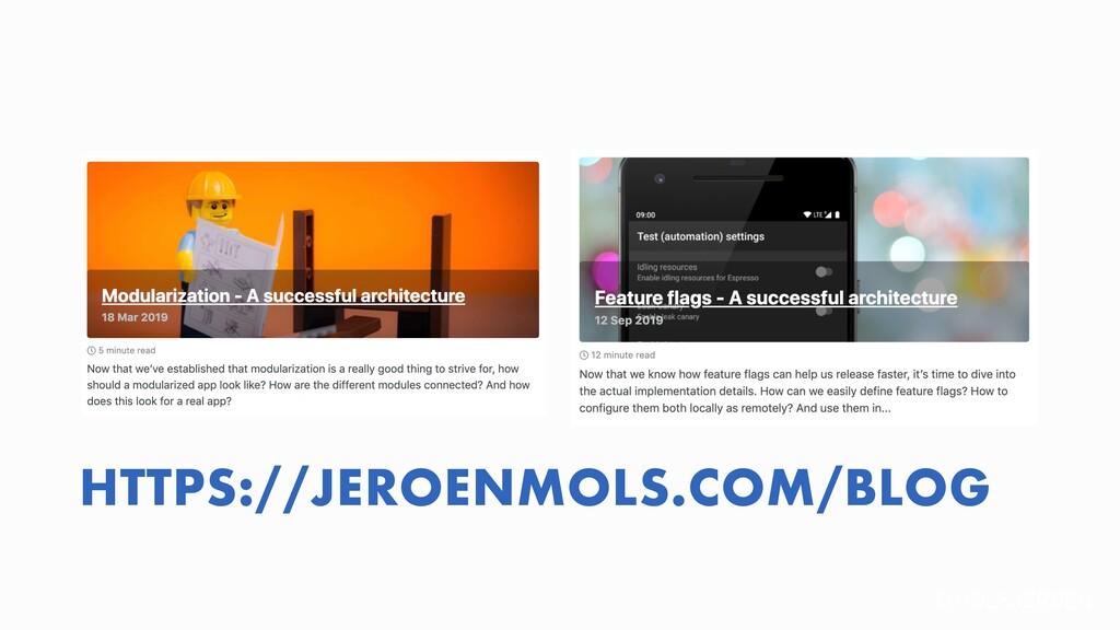 @MOLSJEROEN HTTPS://JEROENMOLS.COM/BLOG