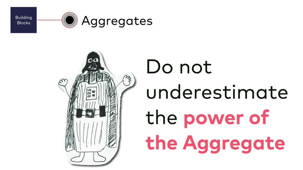 Building Blocks Aggregates Do not underestimat...