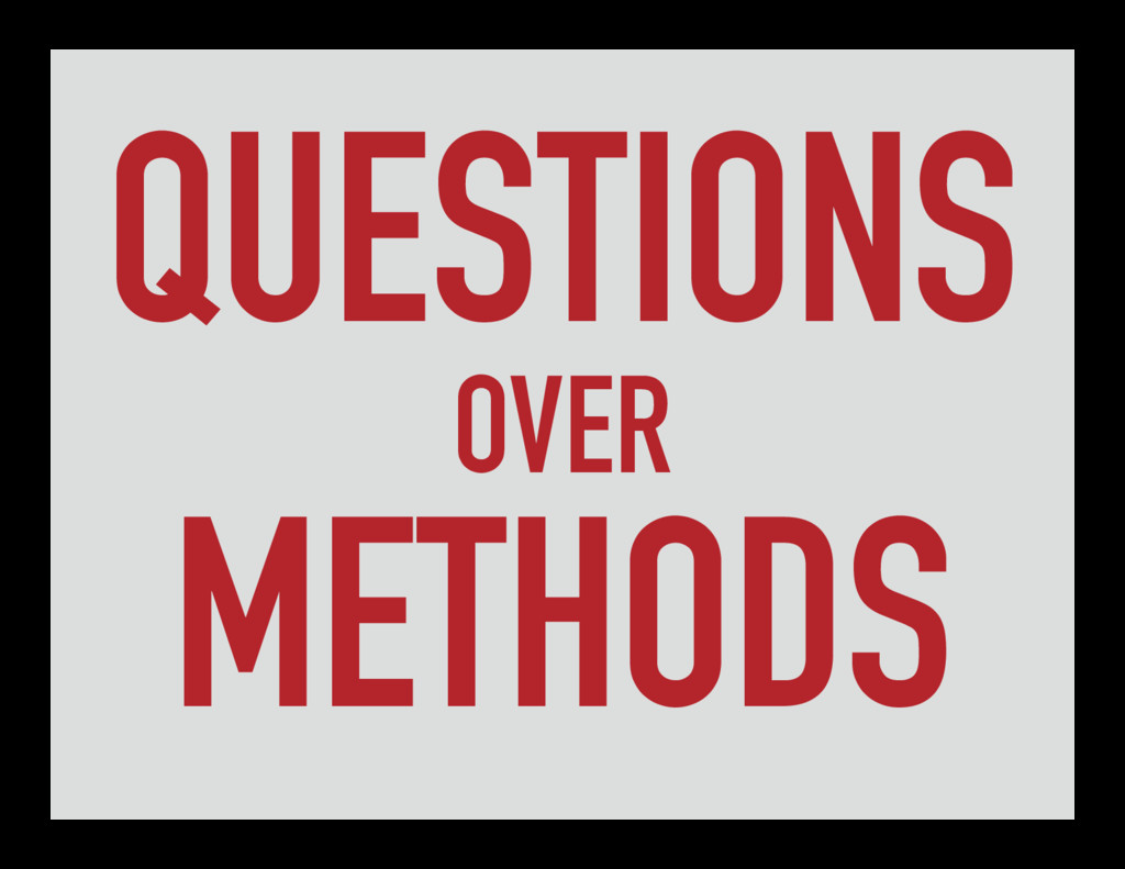QUESTIONS OVER METHODS