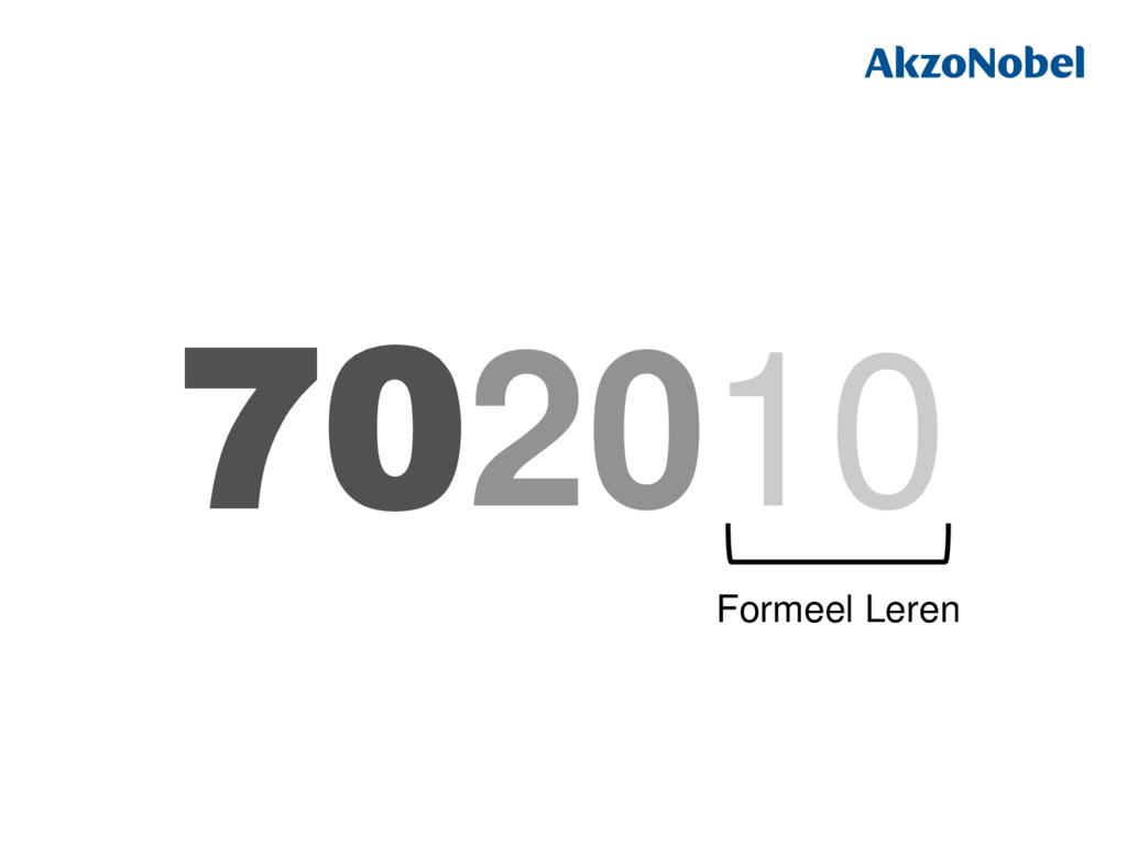 702010 Formeel Leren